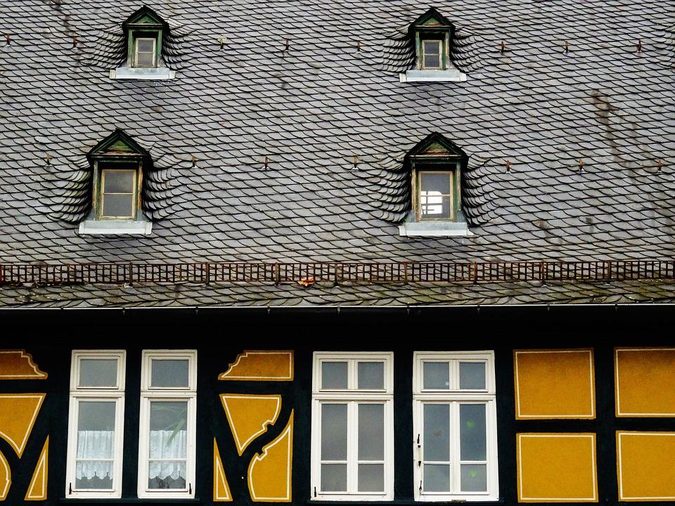 Fachwerkhaus, Roof, Truss, Historically, Building