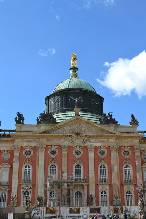 Potsdam, Castle, Building, Historically, Germany