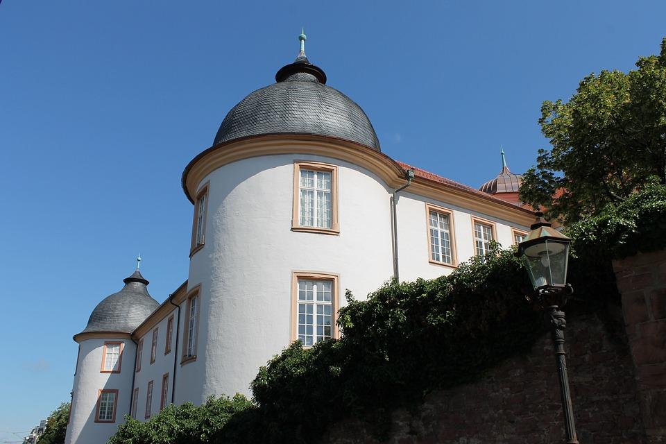 Castle, Ettlingen, Historically