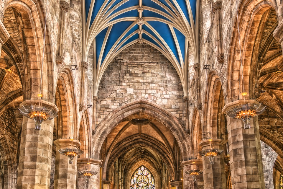 Church, Cathedral, Architecture, Historically