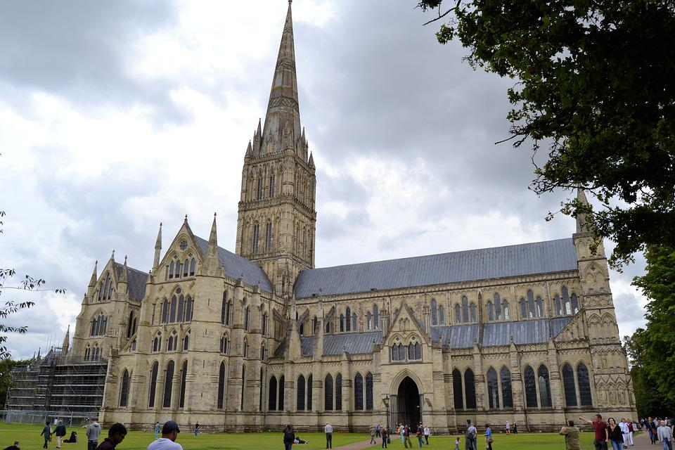 England, Salisbury, Cathedral, Historically