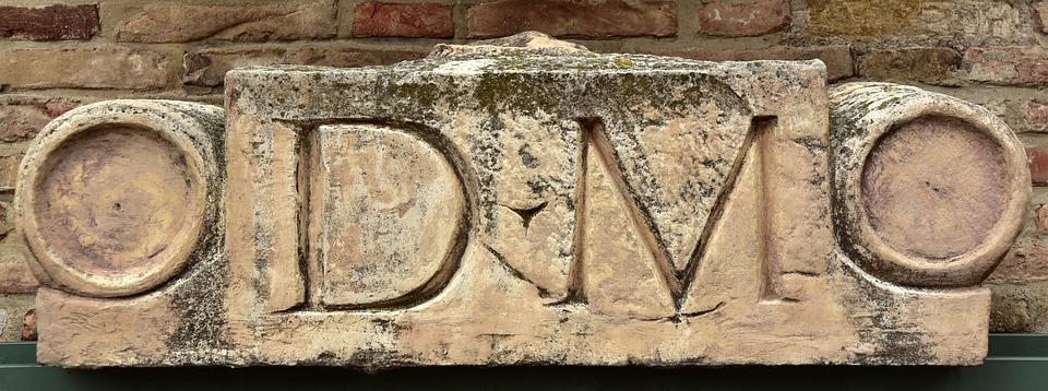 Tombstone, Roman, Historically, History, Stone, Work