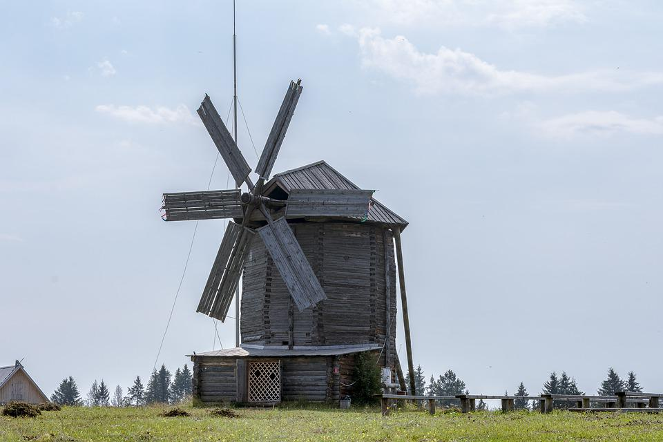 Mill, Landscape, Old Mill, Building, Sky, Historically