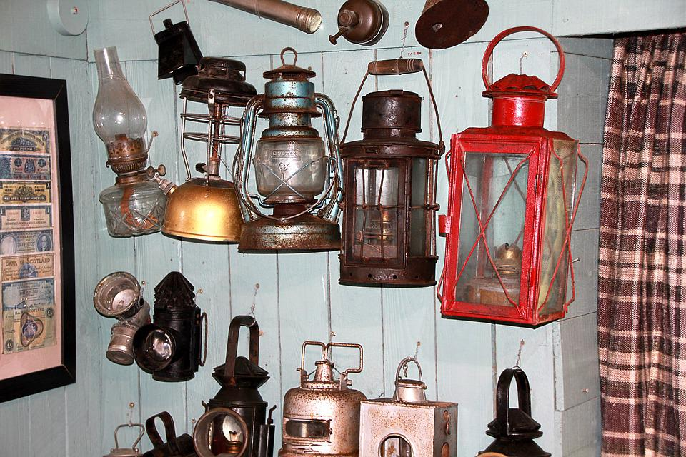 Lantern, Light, Lamp, Old, Historically, Scotland