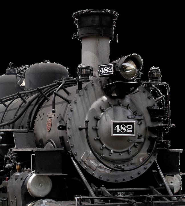 Blackjack, Old, Locomotive, Usa, Historically
