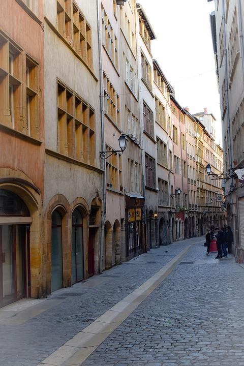 Lyon, Old City, Center, Architecture, Historically