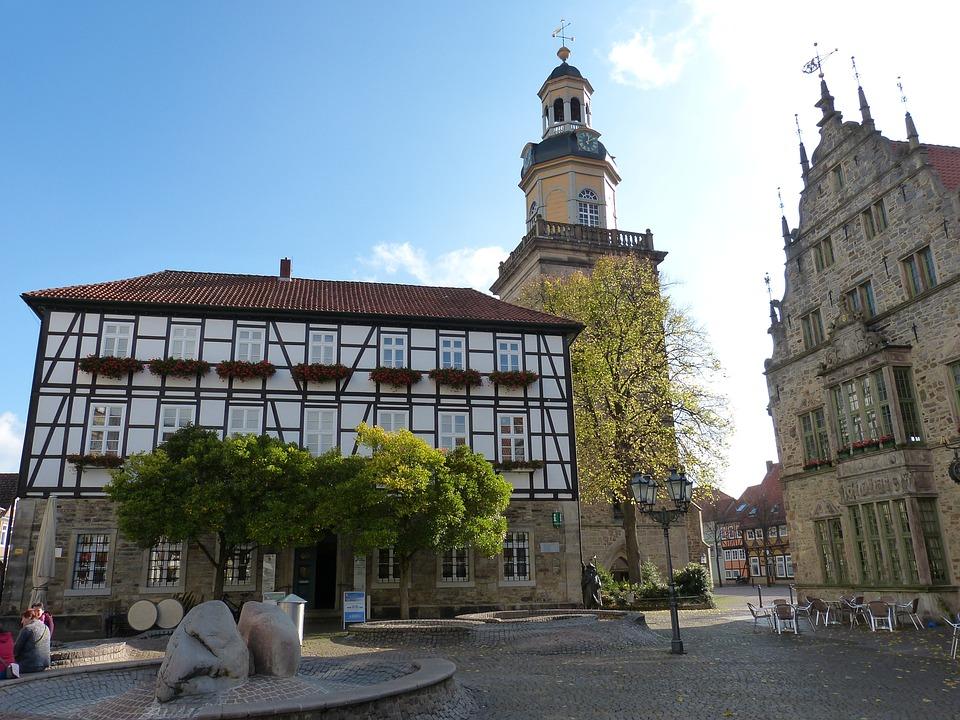 Rinteln, Old Town, North Rhine Westphalia, Historically