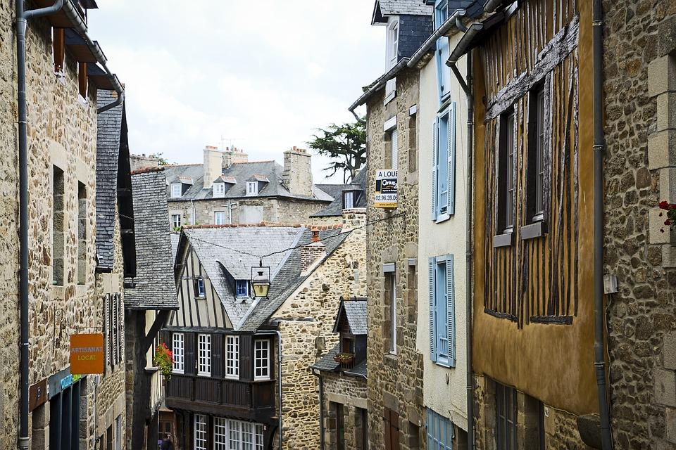 France, Old Town, Village, Historically, European