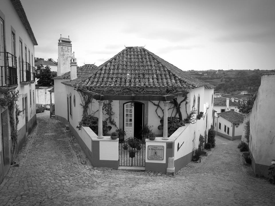Obidos, Portugal, Old Town, Historically, Tourism