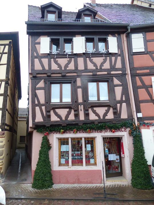 Old Town, Colmar, Truss, Historically