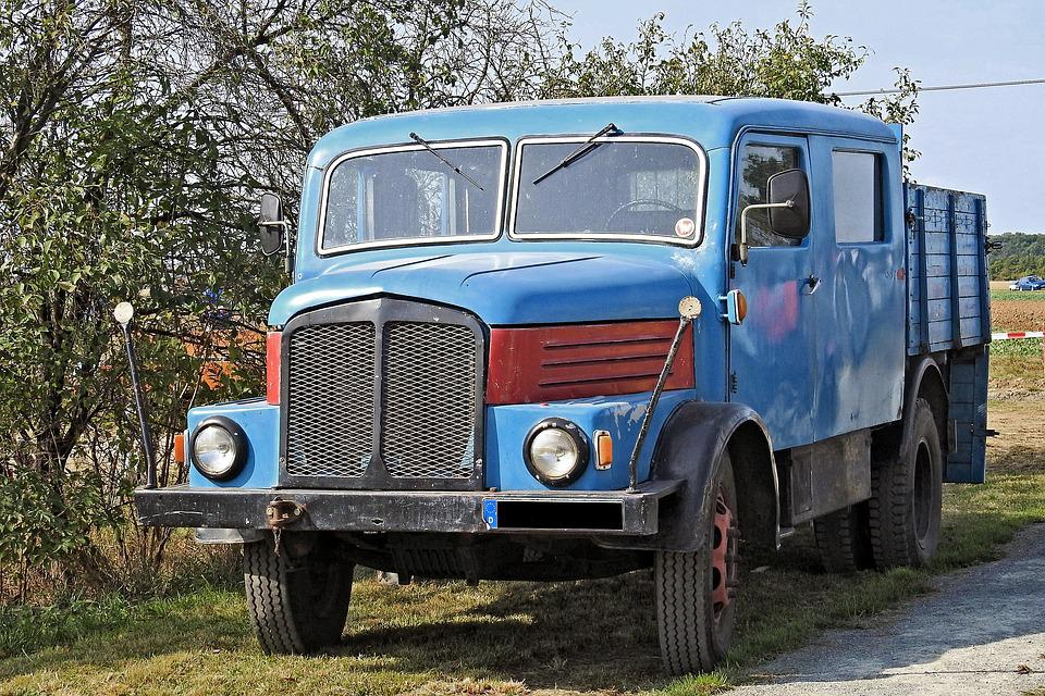 Truck, Old, Historically, Oldtimer, Ifa, H3, H3a