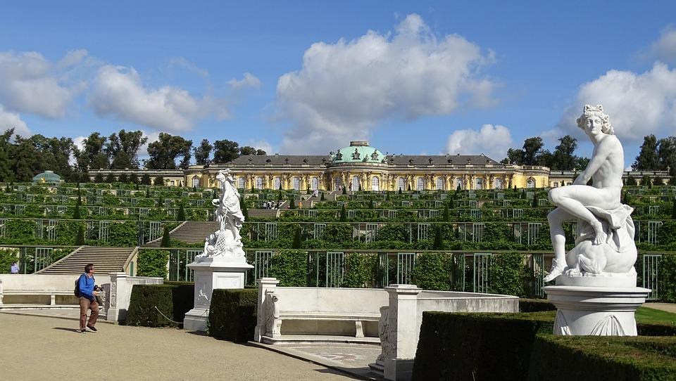 Potsdam, Castle, Places Of Interest, Historically