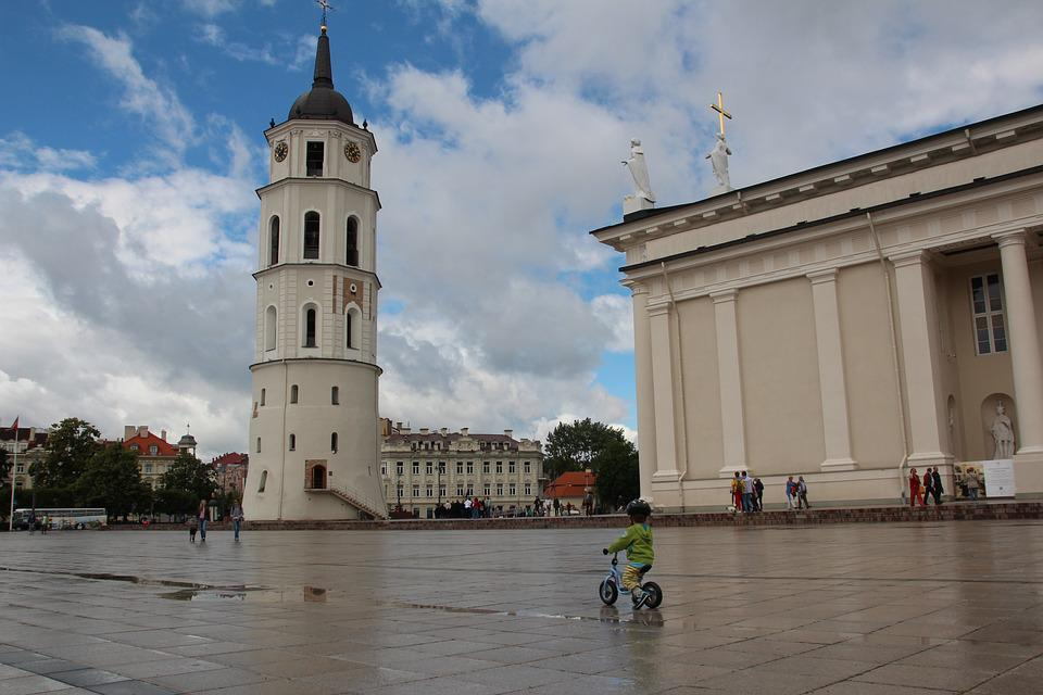 Lithuania, Vilnius, St Catherine's Church, Historically