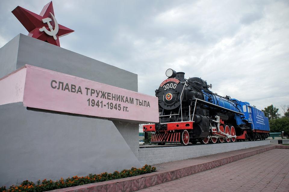 Railway, Steam Locomotive, Locomotive, Historically
