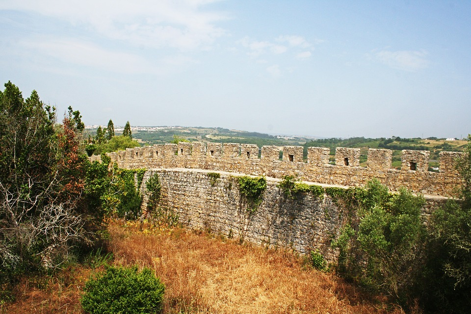 óbidos, Portugal, Castle, Wall, Historically