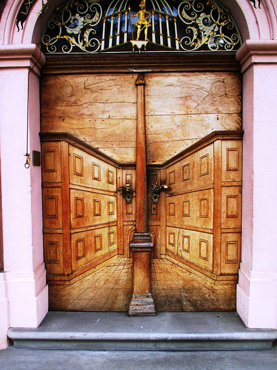 Architecture, Entrance Hall, Wood, Art, Historically