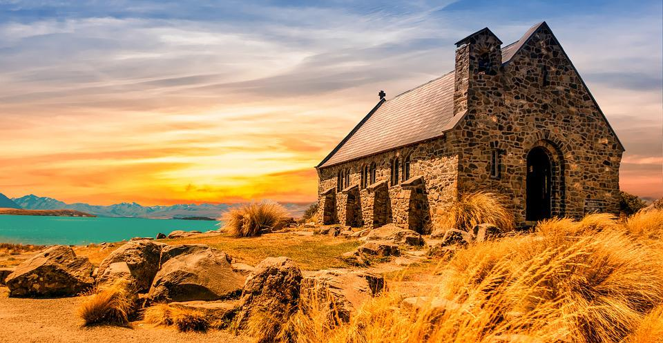 Church, Ancient, Landscape, Architecture, Old, History