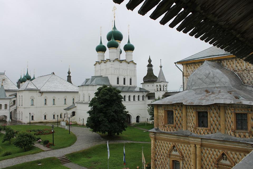Architecture, History, Religion, Rostov, The Kremlin