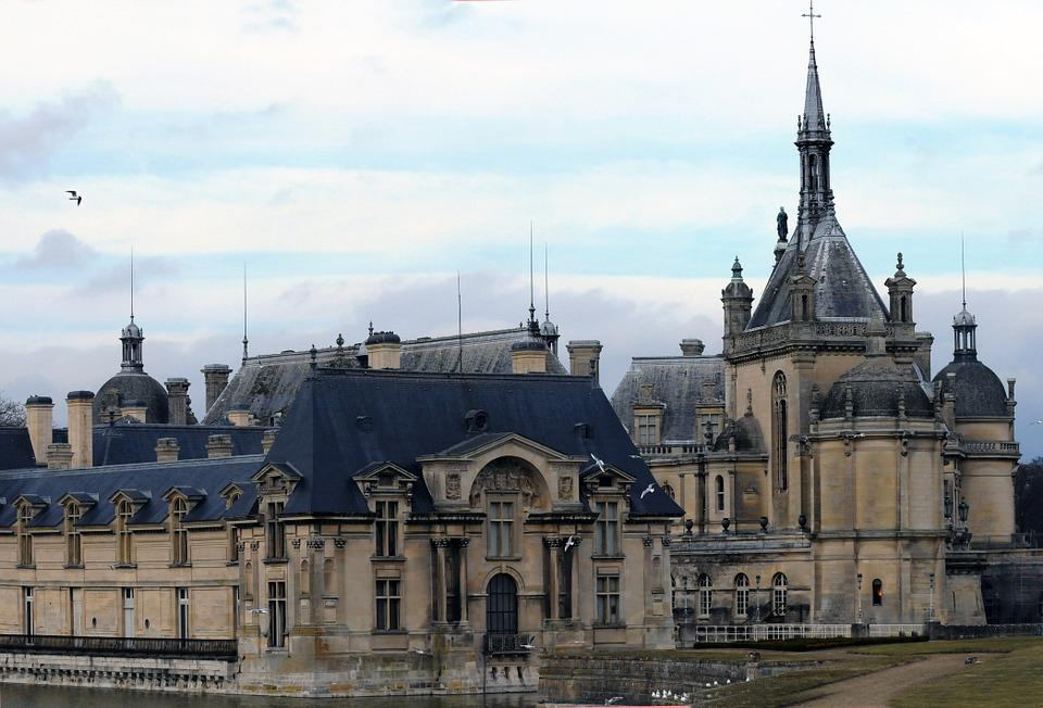 Castle, Chantilly, France, Architecture, History