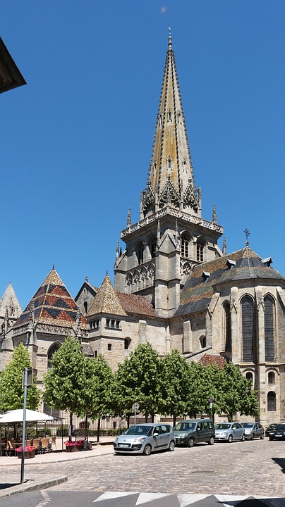Autun, Church, Former, History, Buildings, Burgundy