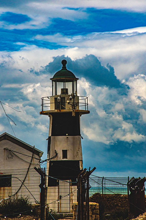 Lighthouse, Old Akko, Israel, Ancient, History, Culture