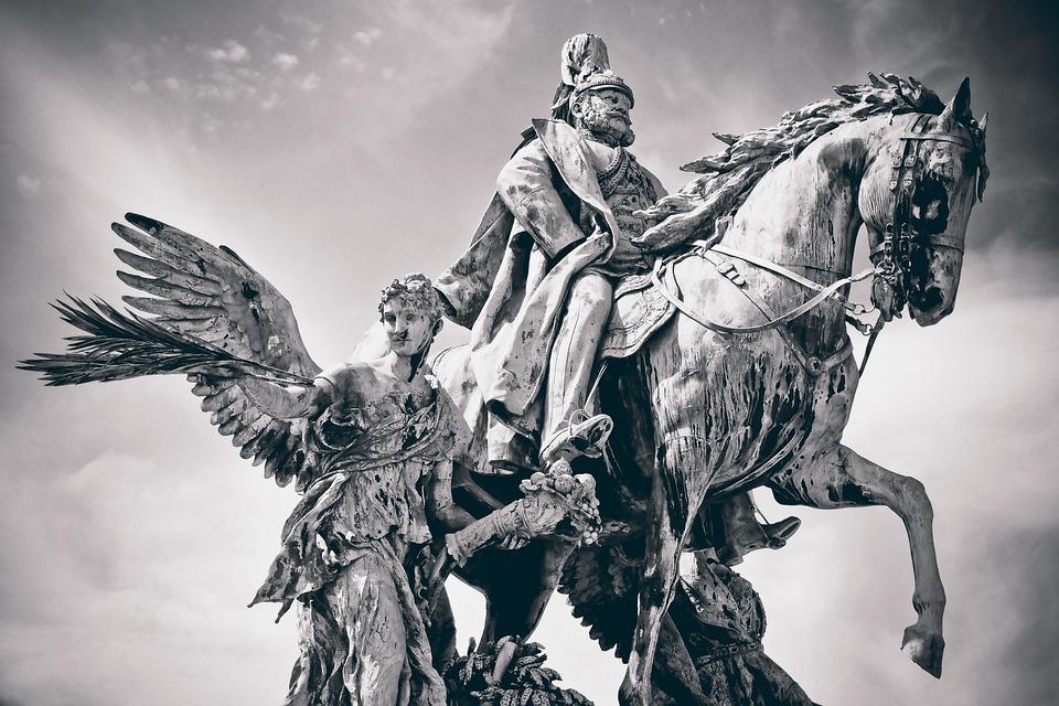 Statue, Emperor, Sculpture, Monument, History