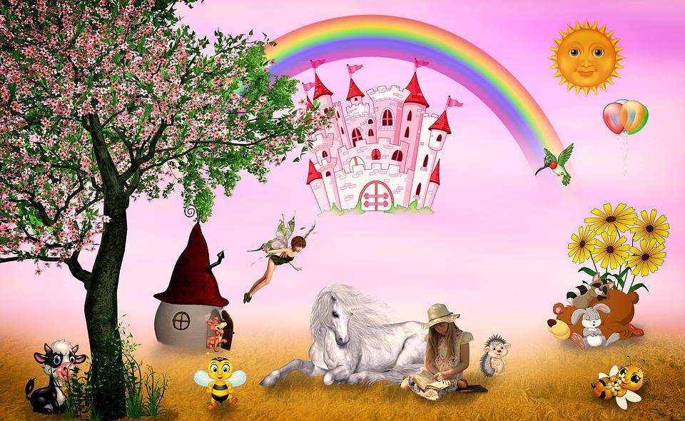 Fairy Tales, Girl, Child, Fantasy, History, Dreams