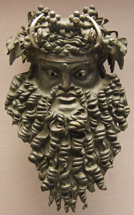 Viking, Bronze, Head, Museum, History, Sculpture