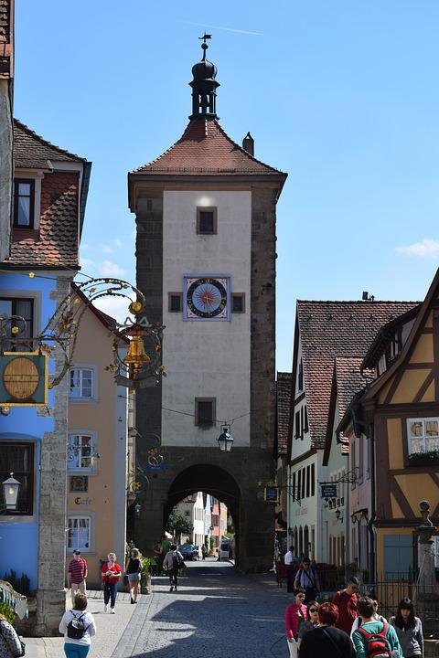 Walled Town, Tower, Fortification, History, Heritage