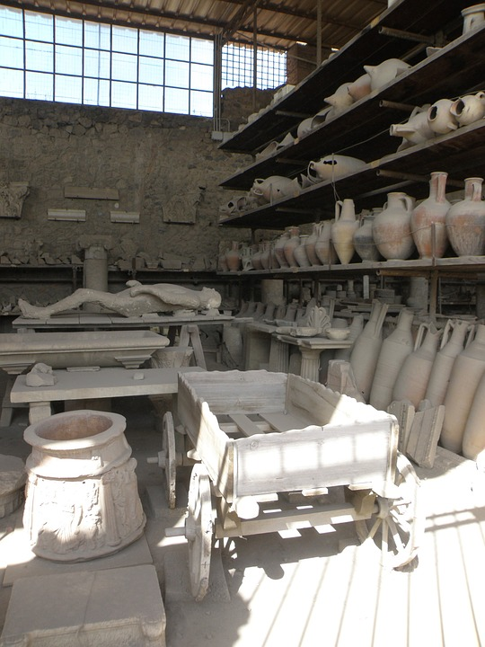 Pompeii, Italy, History, Archeology, Findings