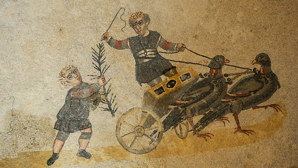 Frescoes, Mosaic, History