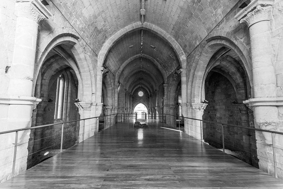 Coimbra, Saint Clara, Old, Portugal, Castle, History