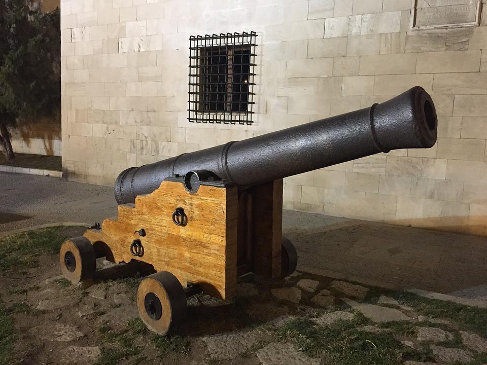 Cannon, Power, Vintage, War, Weapon, History, Gun