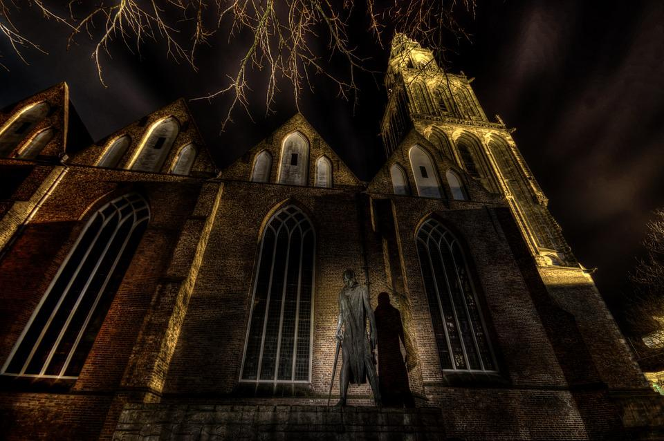 Church, Hdr, Light, Religion, Architecture, History