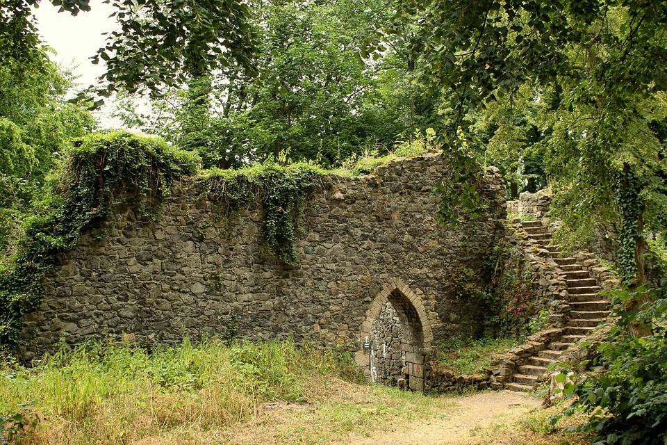 The Ruins Of The, Stone Wall, History, Abandoned