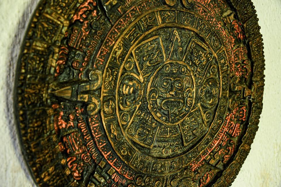Calendar, Maya, Time, History, Past, Old, Vintage