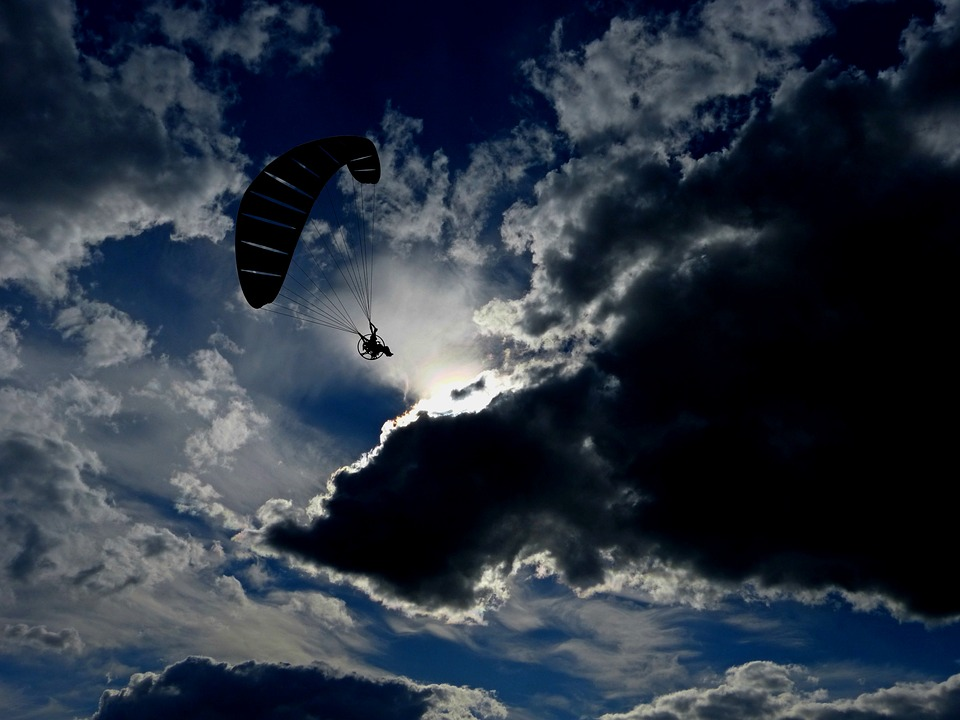 Paraglider, Fly, Paragliding, Sport, Air Sports, Hobby