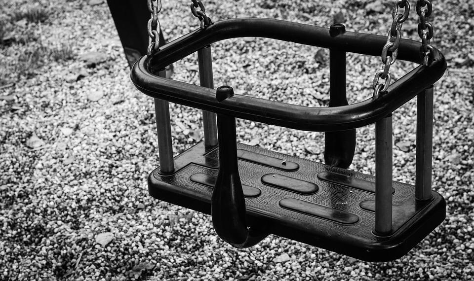 Swing, Field, Playground, Hobby