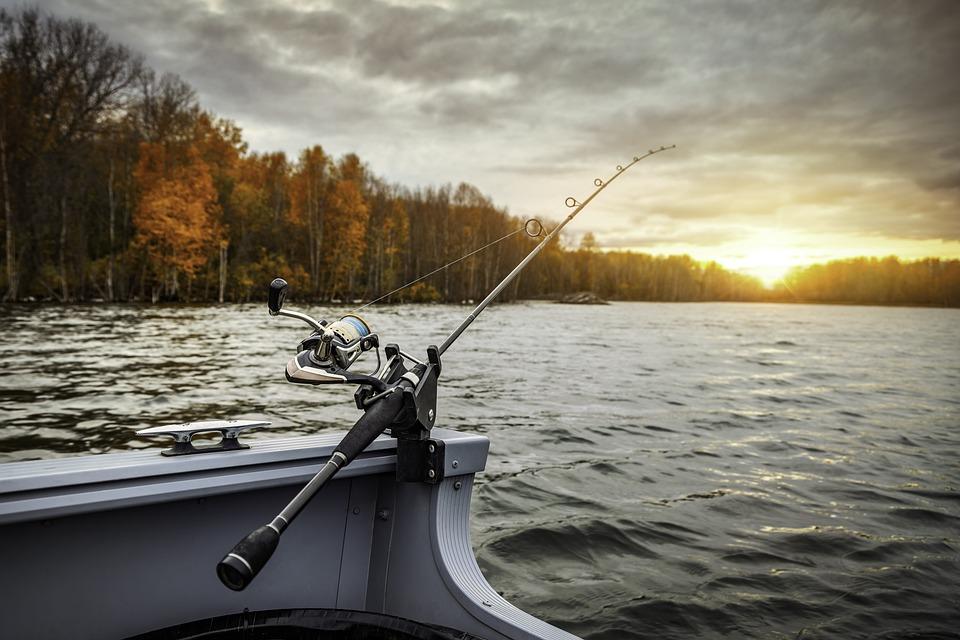 Fishing Boat, Fishing Rod, Fishing, Lake, Hobby, Boat