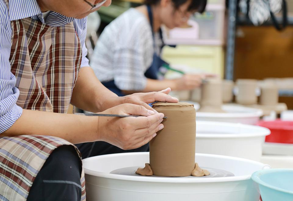 Craft, Pottery, Porcelain, Art, Works, Hobby