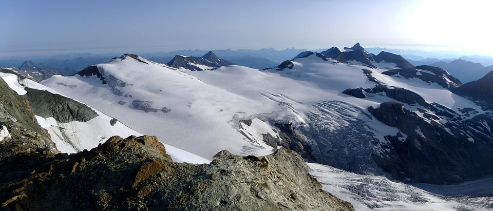 Johannisberg, Hocheiser, Oberwalderhütte, Wiesbachhorn