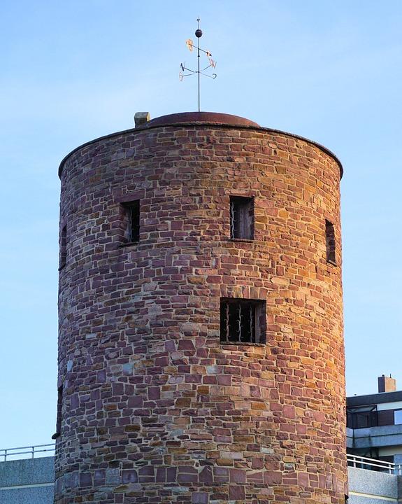Dice Tower, Tower, Hofgeismar, Architecture, Watchtower