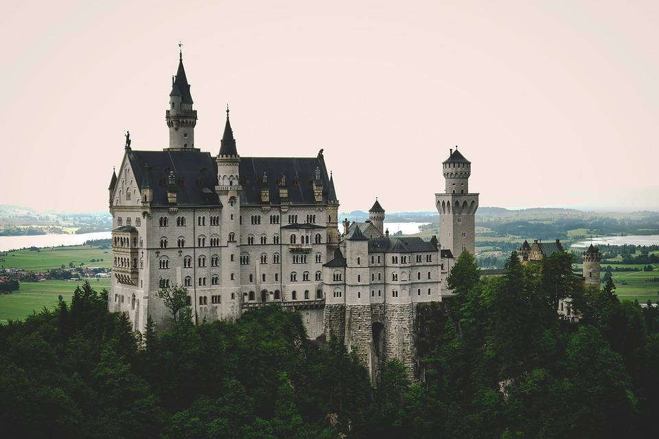 Castle, Kristin, Germany, Bavaria, Hohenschwangau