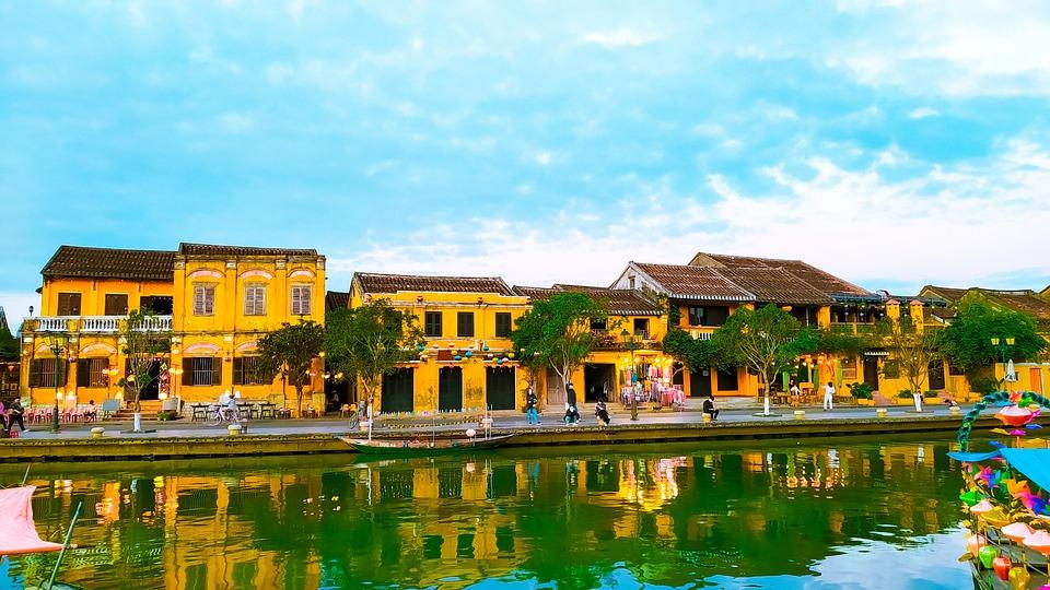 Hoi An, Vietnam, River, Old City, Ancient Town