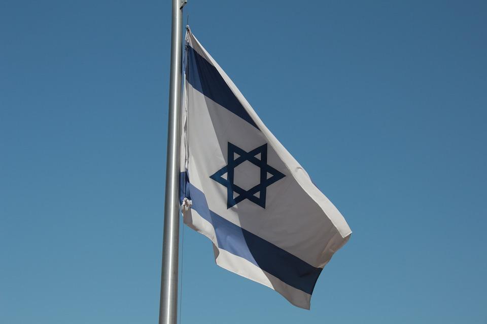 Flag, Israel, Star Of David, Hoist, Patriot, Pride