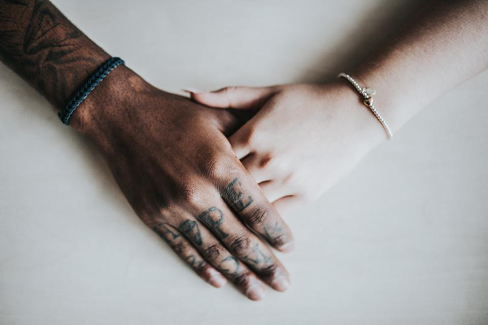 Adult, Bracelets, Couple, Girl, Hands, Holding Hands