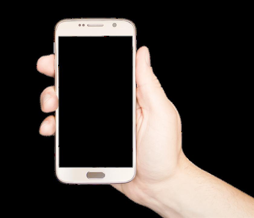 Holding Phone, Holding Mobile, Holding Smartphone
