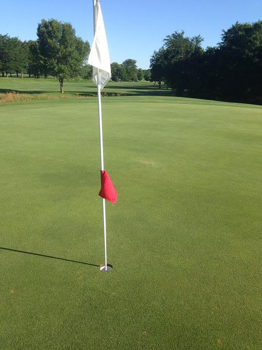 Golf, Green, Golfing, Play, Course, Outside, Hole, Flag