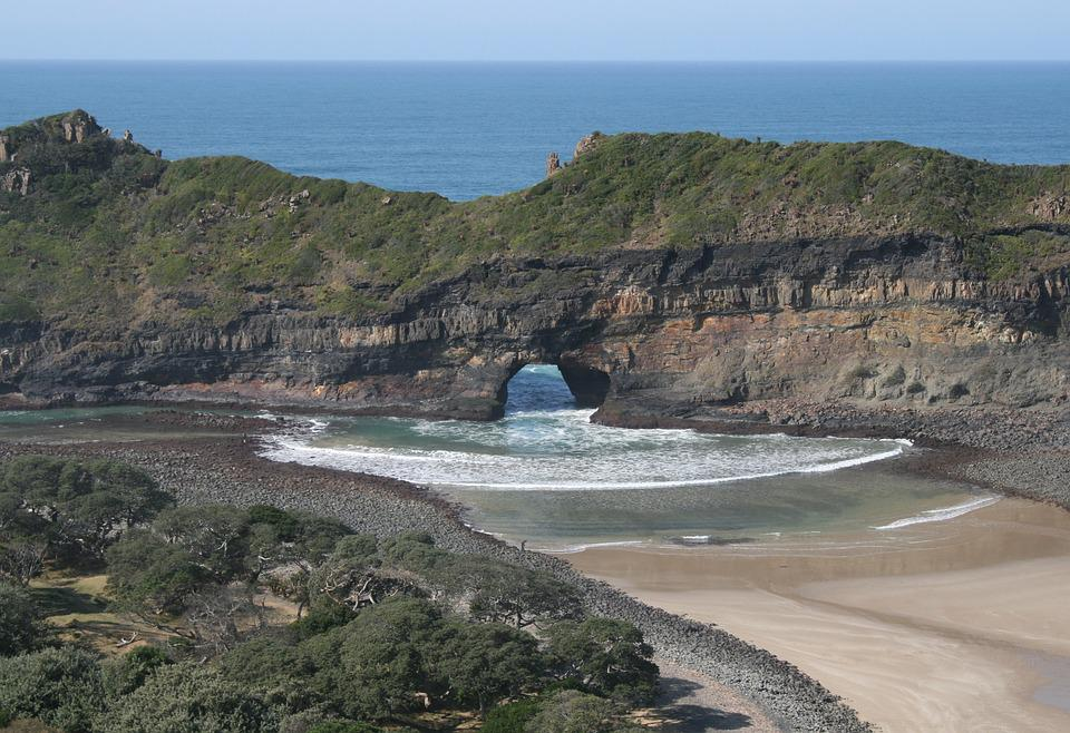 South Africa, Wild Coast, Transkei, Hole In The Wall