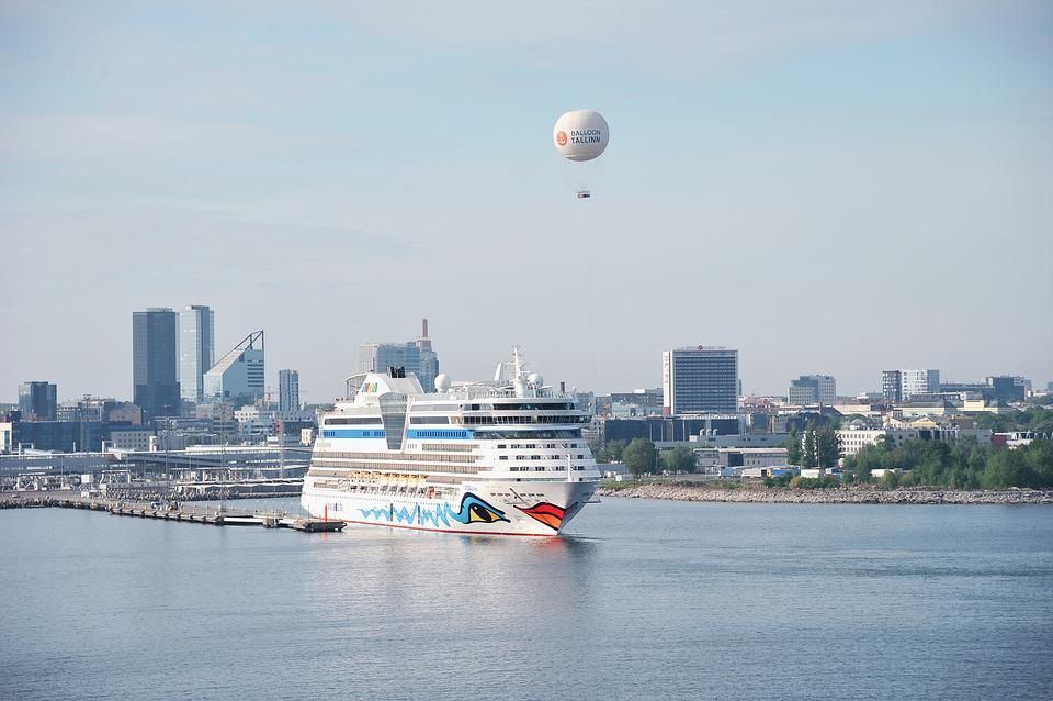 Ship, Boot, Water, Sea, Port, Aida, Cruise, Holiday